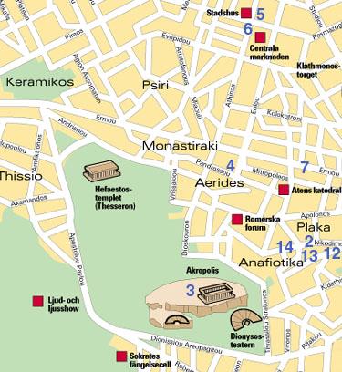 Karta Aten.Aten Karta Sevardheter Inredning Av Badrummet